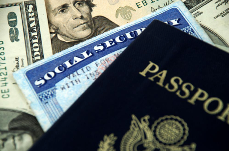 passport, social security card and us money - ABC Title